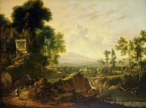 Landscape with a Shrine