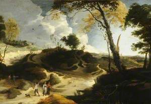 Landscape with Figures and Haymakers