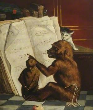 Monkey's Music Lesson