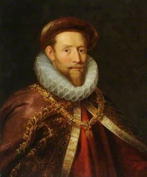 Portrait of a Gentleman Wearing the Order of the Golden Fleece