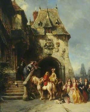 Une visite au château