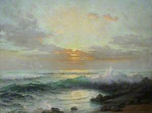 Breakers on the Shore