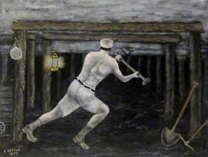 Miner Working Underground