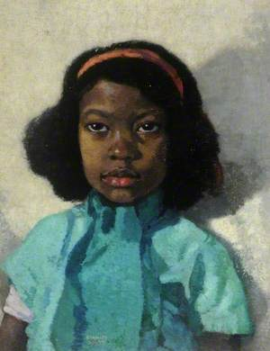 Portrait of a West Indian Girl
