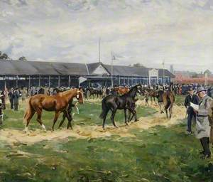 Tattersalls' Sale Ring