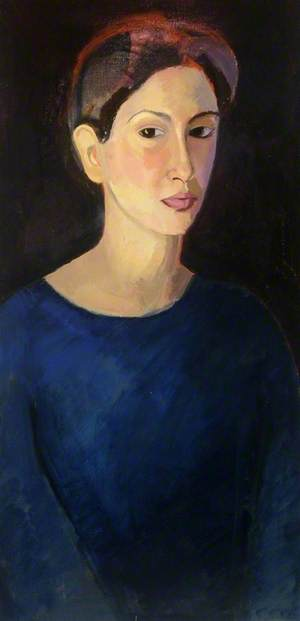 Self Portrait with Miss Rebecca Hutchinson