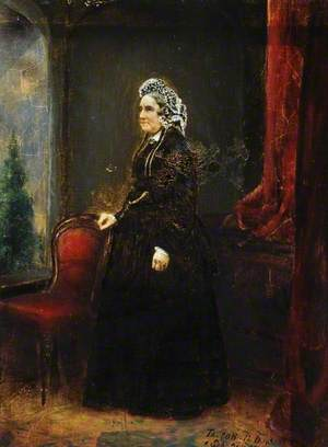 Mrs John Guest, née Hannah Shaw (1797–1882) (The Eightieth Birthday)