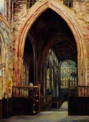 Interior, Rotherham Parish Church, South Yorkshire