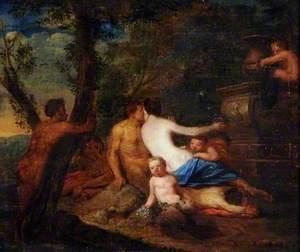 Venus with Satyrs