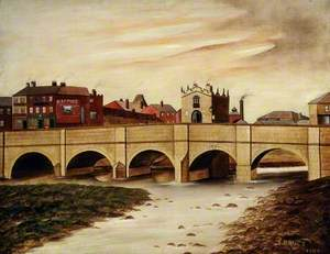 Rotherham Bridge (Gaol Bridge), South Yorkshire