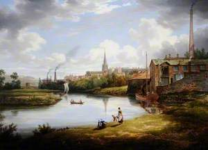 View of Rotherham, South Yorkshire