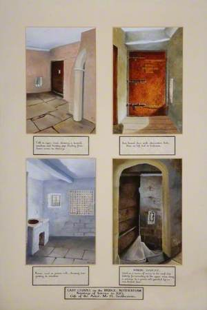 Four Interior Views of the Chapel on the Bridge, Rotherham, South Yorkshire