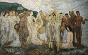 Decoration for an Ivory Room: Invocation to the Dance