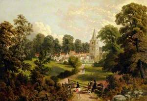 View of Maltby, South Yorkshire