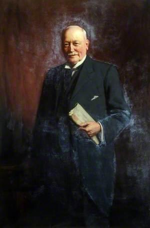 Alderman David Llewellyn Winter (1853–1925), JP, Mayor of Rotherham (1901–1902)