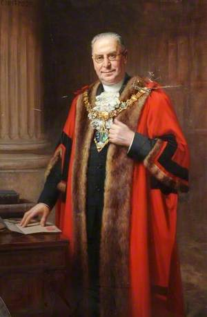 Alderman Albert Percy Aizlewood (1864–1953), JP