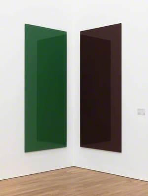 Corner Mirror, green-red (737-2 A, 737-2 B) (Eckspiegel, grun-rot (727-2 A, 737-2 B))