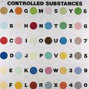 Controlled Substance Key Painting