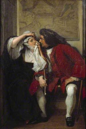 A Scene from Tristram Shandy ('Uncle Toby and the Widow Wadman')