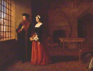 Sir Thomas More and his Daughter