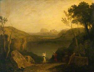 Aeneas and the Sibyl, Lake Avernus