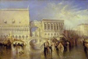 Venice, the Bridge of Sighs