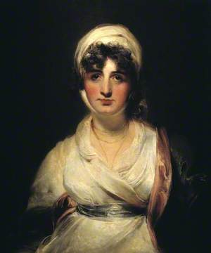 Mrs Siddons, ? as Mrs Haller in 'The Stranger'