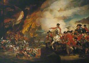 The Siege and Relief of Gibraltar, 13 September 1782; ?replica