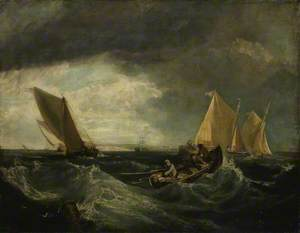 Sheerness and the Isle of Sheppey (after J. M. W. Turner)