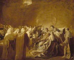 Study for 'The Collapse of the Earl of Chatham'