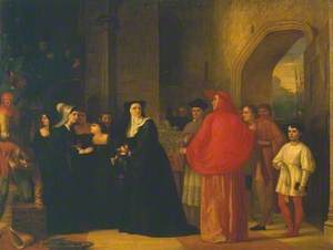 Cardinal Bourchier Urges the Widow of Edward IV to Let her Son out of Sanctuary