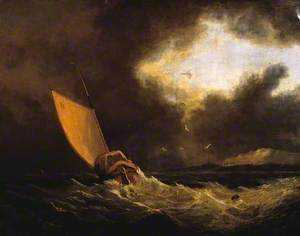 A Galiot in a Gale