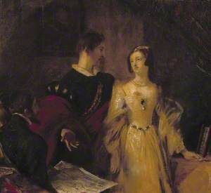 Lady Jane Grey Prevailed on to Accept the Crown