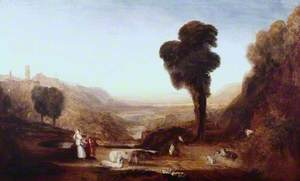 Landscape: Christ and the Woman of Samaria