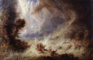 The Commencement of the Deluge