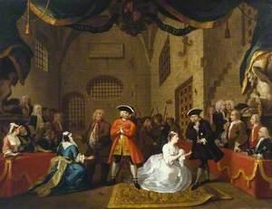 A Scene from 'The Beggar's Opera' VI