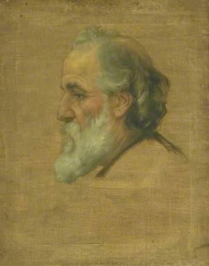 Sketch of Alphonse Legros