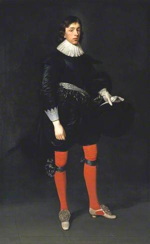 Portrait of James Hamilton, Earl of Arran, Later 3rd Marquis and 1st Duke of Hamilton, Aged 17