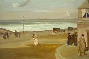 Windy Day at Brighton