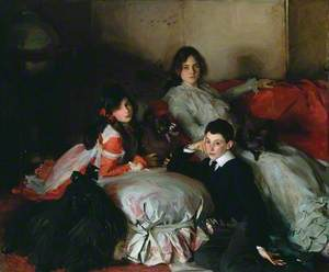 Essie, Ruby and Ferdinand, Children of Asher Wertheimer