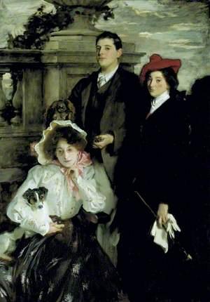Hylda, Almina and Conway, Children of Asher Wertheimer