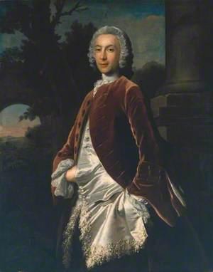 A Gentleman in a Brown Velvet Coat