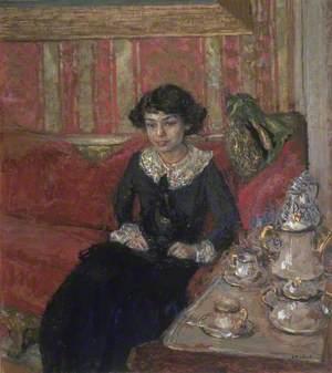 Girl in an Interior (Jeune femme dans un intérieur)