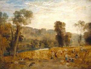 Cassiobury Park: Reaping