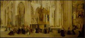 Interior of Amiens Cathedral