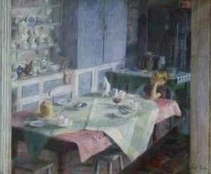 Kitchen at Myrtle Cottage