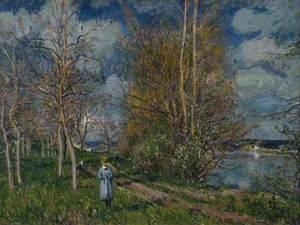 The Small Meadows in Spring (Les Petits Prés au printemps)