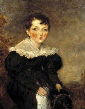 Arthur Hughes at the Age of Four