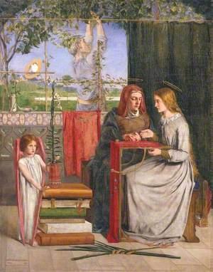 The Girlhood of Mary Virgin