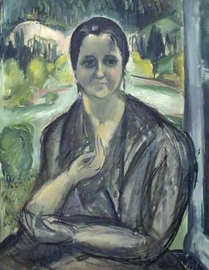 Woman at a Window (Jeune femme à la fenêtre)